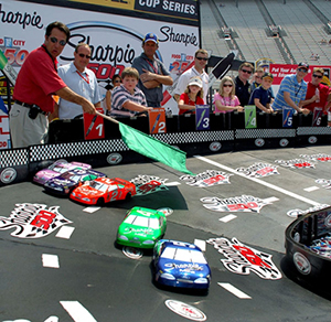 Racing Games Rental Asheville NC - ThunderDome Entertainment - Bristol_Motor_Speedway