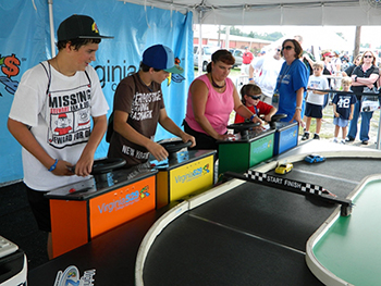 Remote Control Race Track Rental Newport News VA - ThunderDome Entertainment - Mini_Track_Richmond