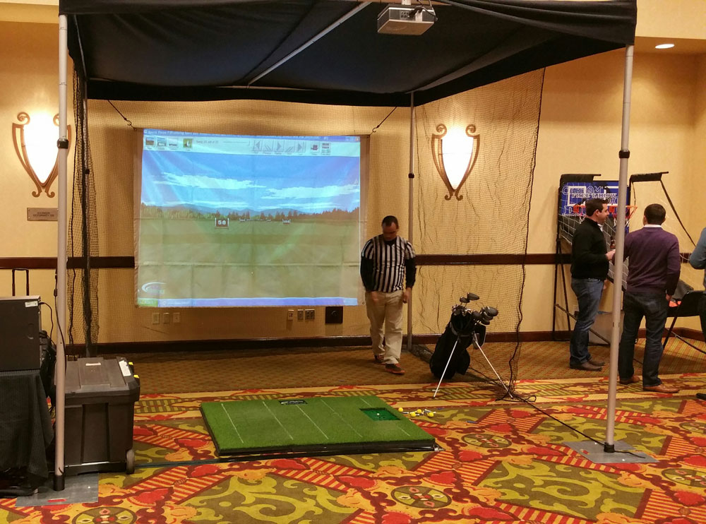 Golf Simulators & Virtual Golf Rentals - ThunderDome Entertainment - Golf-Simulator