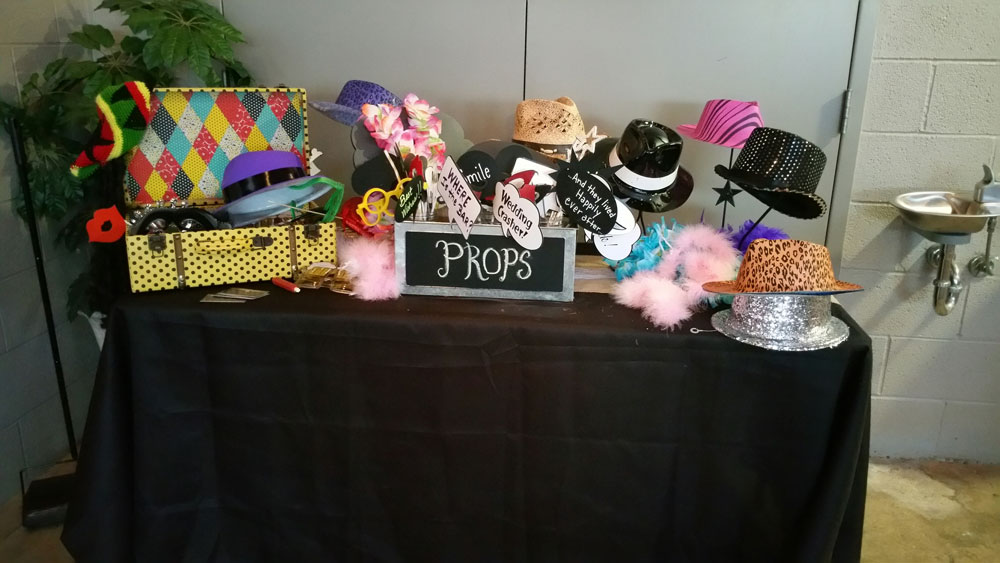 Photo Booths for Events & Weddings - ThunderDome Entertainment - Wedding-Props
